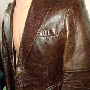 DKNY. Men's. Leather. Blazer. XL SIZE
